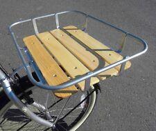 Porte bagage Avant de vélo - Alu & Bois  ville porteur route cyclotoursiste