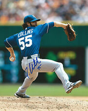 **GFA Kansas City Royals *TIM COLLINS* Signed 8x10 Photo T1 COA**
