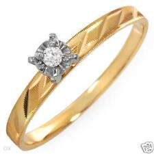 10KYG Diamond Promise Ring (6)-Valued $419.00-Free Ship