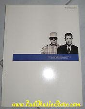 spartito PET SHOP BOYS DISCOGRAPHY singles collection NO cd lp mc vhs dvd