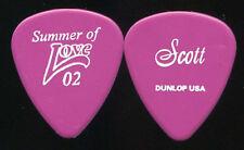 HEART 2002 Summer Love Tour Guitar Pick!!! SCOTT OLSON custom concert stage #4