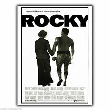 Rocky Movie film Metal Wall Sign Plaque advert poster print Sylvester Stallone