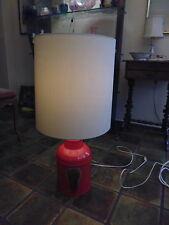 Rosenthal Studio Linie 70er Jahre rote Stehlampe
