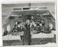 BRITISH EUROPEAN AIRWAYS AMBASSADOR CABIN LARGE OFFICIAL BEA STAMPED PHOTO