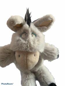 Sandra Boynton Plush NOPE Stuffed Donkey Animal 1994 GUND Crazy Eyes