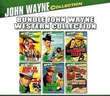 6 JOHN WAYNE WESTERN CLASSIC COLLEZIONE Rancher Fede Ray Corrigan DVD Edizione