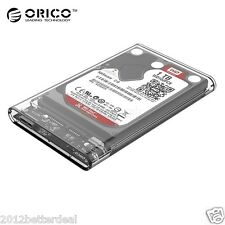 "ORIGINAL ORICO USB 3.0 to 2.5"" SATA Hard Drive External Enclosure UPTO 2TB"