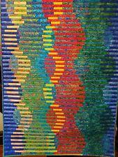 Rippling Stream Wall Art Quilt