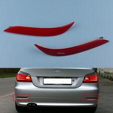 Pair Rear Reflector Light Red Left+Right for BMW  E60 525i 528i 530i 535i etc.