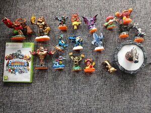 Xbox 360 Spiel Skylanders Giants mit 18 Figuren +Portal