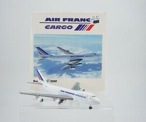 Vintage Herpa Air France Airlines Boeing 747-200 1:500 Airplane 502450
