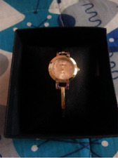 Stainless Steel Gold Watches With Box (Gold)