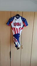 Original USA zeitfahranzug manches courtes femmes/Timetrial Skinsuit SS LADY (M)