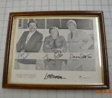 The Lettermen Autograph x 3 Signed Photo - Tony Butala Mark Preston Donovan Tea