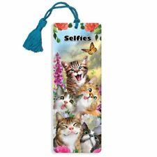 Cat Selfie Super 3D Effect Howard Robinson Bookmark