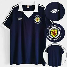 Retro 1978 Scotland Home Football Shirt Jersey Tops UK