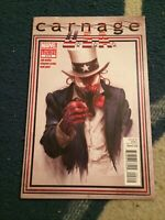 CARNAGE U.S.A #2 Classic Cover Hard To Find Clayton Crain Zen Wells [Marvel]