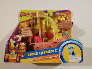 Fisher Price Imaginext Scooby Doo Viking Ship - New