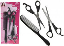 1 X 3 PC HAIRDRESSING HAIRDRESSER SET WITH HAIR CUTTING+ THINNING SCISSORS+ COMB