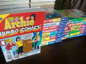 Lot of 19 ARCHIE JUMBO COMICS DIGEST - Full Color