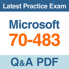 Microsoft Programming in C# Practice Test 70-483 Exam Q&A PDF