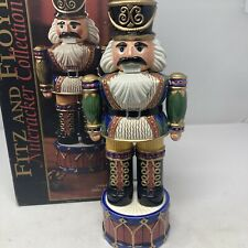Fitz and Floyd Soldier Nutcracker Collection 2004 Rare Le 12 Inch Christmas Deco