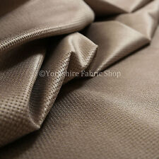 10 Metres Of Soft Cosy Chenille Texture Velvet Interior Upholstery Fabric Brown