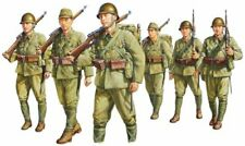 New Fine Molds 1/35 Scale Imperial Japanese Army Infantry Set Plastic Model FM37