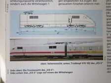 Bahn Lokaufrisse E & Diesel ET 66 DB AG 410 Versuchszug ICE 3, 1997