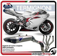 Termignoni FORCE komplett Auspuff titan racing für MV Agusta F4 2010>2016