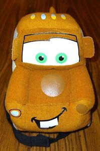 Disney Pixar Cars 2 Tow Mater Blanket Hugger Stuffed Animal Plush Toy Truck