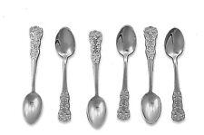 NS Alpacca 6 piece Demitasse Spoons   Classic Flatware