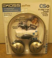 KOSS Computer Stereophones Model CS-6 NEW In Package!!