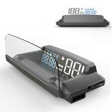 Car Motorcycle Digital GPS Speedometer HUD Head Up Display MPH KM/h Speed Warn