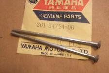 YAMAHA JT1  JT1L  1971  GENUINE  NOS  TAIL  LAMP  LENS  SCREWS - # 201-84724-00