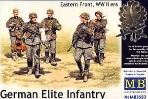 Masterbox German Elite Infantry Eastern Front 5 Soldiers 1:3 5 Figurines East