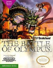 Nintendo Nes  THE BATTLE OF OLYMPUS Box Cover Fridge Magnet Game Room Decor