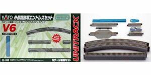 New Kato 20-865 V6 Outer Oval Track Set For Master 1 Set