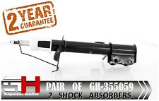 2 NEW REAR GAS SHOCK ABSORBERS FOR CHEVROLET LACETTI, OPTRA 2004- / GH 355059 /