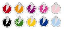 Flash Enamel/Solid Stainless Steel Engraved ID Dog/Cat Tag