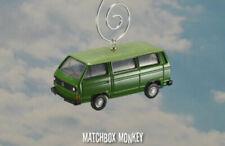 Bus miniatures verts Volkswagen