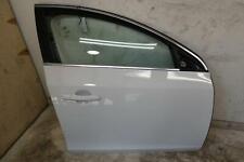 2011 - 2018 VOLVO S60 FRONT RIGHT PASSENGER DOOR SHELL (ICE WHITE 614) OEM