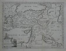 Original 1782 Map TURKEY IN ASIA Constantinople Jerusalem Baghdad Cyprus Armenia
