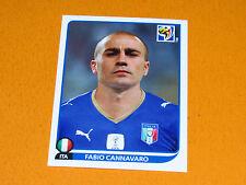 413 CANNAVARO ITALY ITALIA PANINI FOOTBALL FIFA WORLD CUP 2010  COUPE DU MONDE