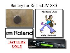 Battery for Roland JV-880 Synth Module - Internal Memory Replacement Battery