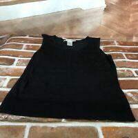 Peter Nygard women's top blouse sleeveless tank blouse  petite size 4 to 6