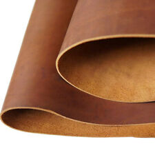 Tooling Leather Square 2.0mm Thick Full Grain Cowhide Leather Craft 5/6OZ Brown