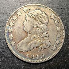 1819 Capped Bust Quarter --  MAKE US AN OFFER!  #B4268