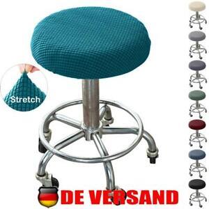 Drehhocker Stuhlhusse Rollhocker Stuhlbezug Barhocker Arbeitsstuhl Stretchhusse
