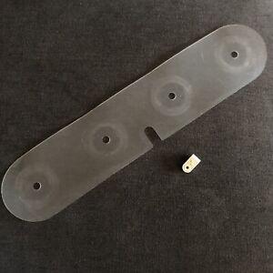Extension Plate,+Detachable Cord Guide Original Part WHITE SUPERLOCK 534 Serger